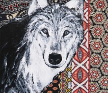 Mexican cloth 04/wolf