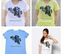 mikimikimikky1016. × And A  Brussele tee