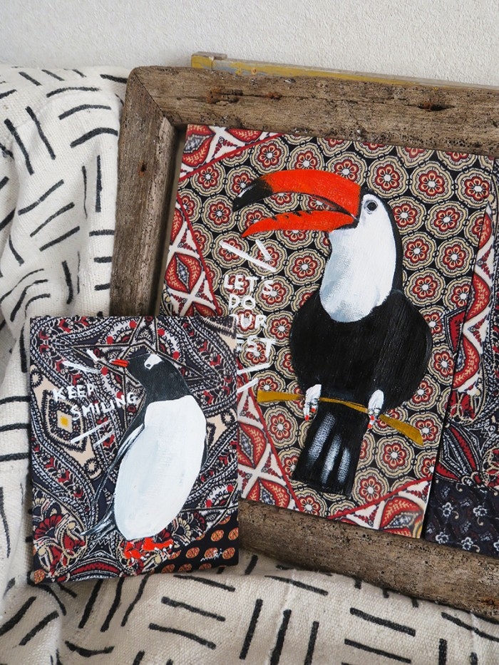 Mexican cloth 07/penguin